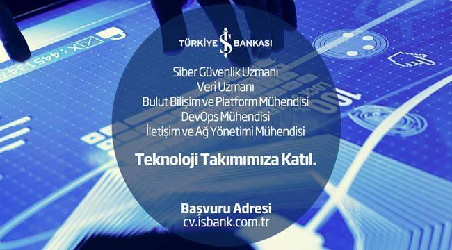 İş Bankası Teknoloji Takımına Ekip Arkadaşları Arıyor