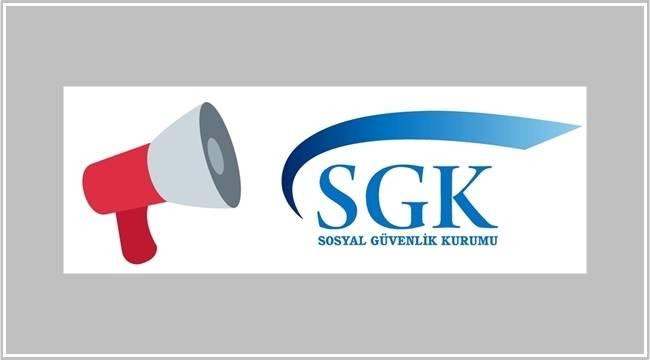 SGK: Kısıtlama süresinde sigorta primlerinin ve yapılandırma taksitlerinin...