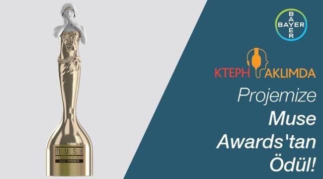 Bayer'in KTEPH Aklımda Projesine Muse Awards'tan Ödül